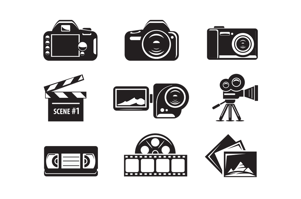 photo-video icons