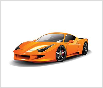 Exotic sport car
