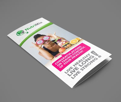 Nutri Mix brochure