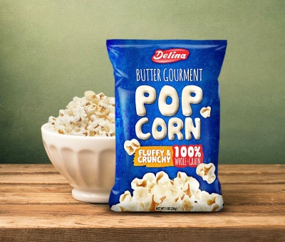 Popcorn packaging